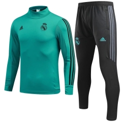 Youth Real Madrid Green Training Suit 2018
