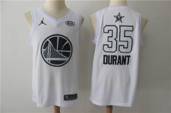 Kevin Durant #35 Nike 2018 NBA All-Star Edition Swingman Jersey - White/Black