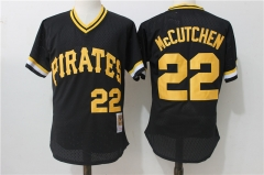 Andrew McCutchen #22 Pittsburgh Pirates Mitchell & Ness Cooperstown Collection Authentic Practice Jersey - Black