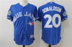 Josh Donaldson #20 Toronto Blue Jays Majestic 2017 Spring Training Cool Base Player Jersey - Blue