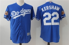 Clayton Kershaw #22 Los Angeles Dodgers Majestic 2017 Spring Training Cool Base Player Jersey - Blue