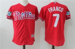 Maikel Franco #7 Philadelphia Phillies Majestic 2017 Spring Training Cool Base Player Jersey - Red
