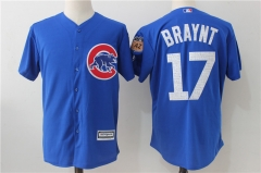 Kris Bryant #17 Chicago Cubs Majestic 2017 Spring Training Cool Base Player Jersey - Blue