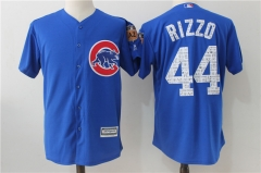 Anthony Rizzo #44 Chicago Cubs Majestic 2017 Spring Training Cool Base Player Jersey - Blue