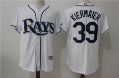 Kevin Kiermaier #39 Tampa Bay Rays Majestic Official Cool Base Player Jersey - White