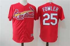 Dexter Fowler #25 St. Louis Cardinals Majestic Cool Base Player Jersey - White/Cream/Red/Gray