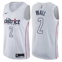 John Wall #2 Nike Washington Wizards Swingman City Edition Jersey - White