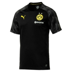 Borussia Dortmund Black Training Short Sleeve Jersey 2018