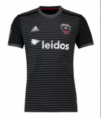DC United  Home Black Soccer Jersey shirts 2017-2018