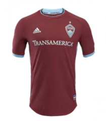 Colorado Rapids Home Red Soccer Jersey Shirts 2018