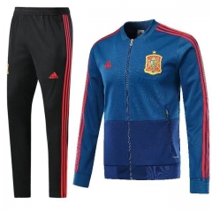 Spain Blue N98 Jacket Suit 2018