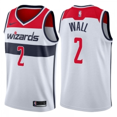 John WalI #2 Nike Washington Wizards Swingman Icon  Jersey - White/ Red