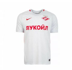 Spartak Moscow Away White Soccer Jersey shirts 2017-18