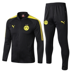 Borussia Dortmund Black Jacket Suit 2017-18