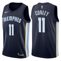 Mike Conley #11 Nike Memphis Grizzlies Swingman Icon Jersey - Navy