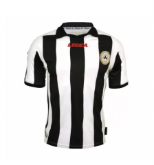 Udinese Legea Home Black And White Soccer Jersey shirts 2012-13