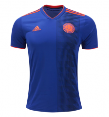 2018 Colombia Away Soccer Jersey Shirts