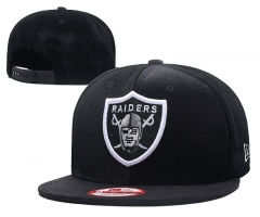 NFL Raiders Team Snapback Adjustable Caps 2018