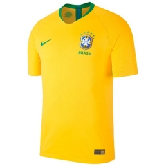 Player Version Brazil Home World Cup 2018 Soccer Jersey