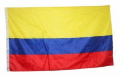 Colombia Flag National Country Banner Super-Poly Indoor/Outdoor