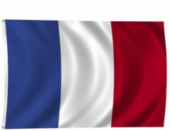 France Flag National Country Banner Super-Poly Indoor/Outdoor