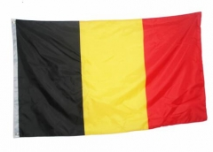 Belgium Flag National Country Banner Super-Poly Indoor/Outdoor