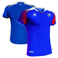 2018 Iceland Home Soccer Jersey Shirts
