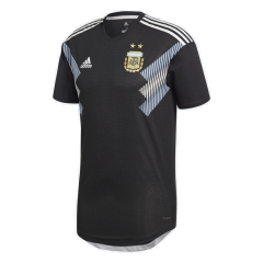 Player Version 2018 Argentina Away Soccer Jersey Shirts