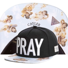 New Cayler & Sons PRAY  Hip Hop Flat Baseball Caps Summer Caps