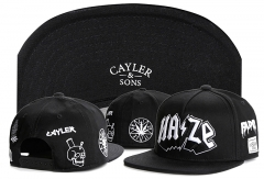New Cayler & Sons HAZE Snapbacks
