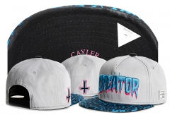 New Cayler & Sons Creator Hip Hop Flat Baseball Caps Summer Caps