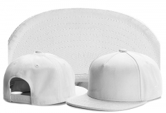 Pure White Baseball Hip-Hop Cap