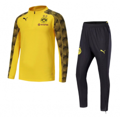 Borussia Dortmund 1/4 Zip Squad Yellow Training Suit 2018