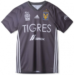 Tigres UANL Third Away Gray Soccer Jersey 2018-2019