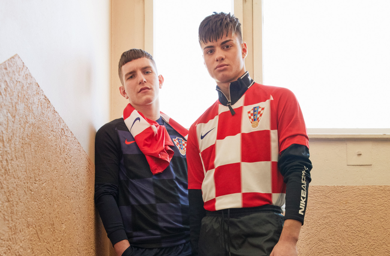 ... typical of Nike s 2018 Vapor template. A similar zig-zag detail is  applied to the checkers on the front of the Croatia 2018 World Cup home  shirt. 5d7923a65
