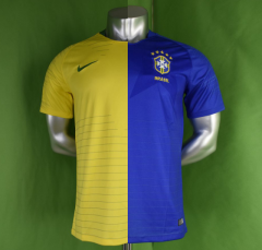 【Spot Goods】Picture Version,2018 Brazil Home Away Soccer Jersey