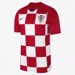 2018 World Cup Croatia Home Soccer Jersey Shirts