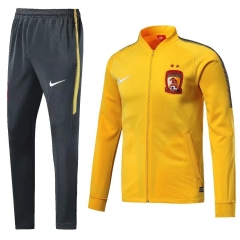 Guangzhou Evergrande Yellow N98 Jacket Suit 2018