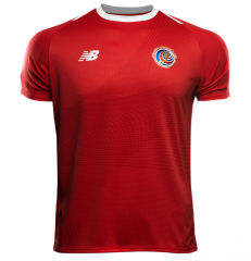 2018 World Cup Costa Rica Home Soccer Jersey Shirts