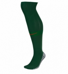 Youth Portugal Home Green Soccer Sock 2018
