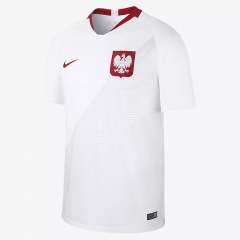 2018 World Cup Poland Home Soccer Jersey Shirts