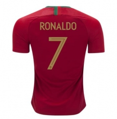 2018 World Cup Portugal #7 Ronaldo Soccer Jersey Shirts