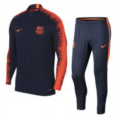 Barcelona Blue Training Suit 2018