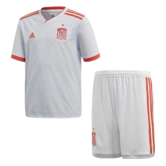 2018 Youth Spain Away Soccer Kit