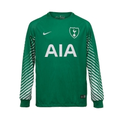 Tottenham Hotspur Green Goalkeeper Long Sleeve Soccer Jersey 2018