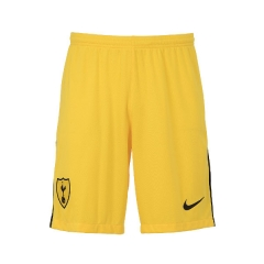 Tottenham Hotspur Yellow Goalkeeper Short Pants 2018