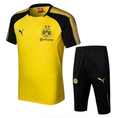 Borussia Dortmund Yellow Short Training Suit 2018