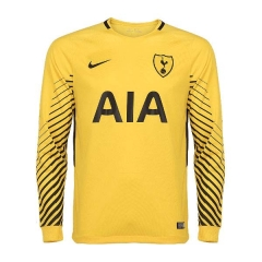 Tottenham Hotspur Yellow Goalkeeper Long Sleeve Soccer Jersey 2018