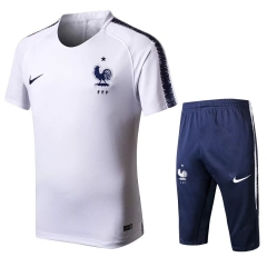 France White Short Training Suit 2018