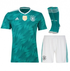 Youth Germany Away Soccer Jersey Full Kits 2018 ,Jersey+Shorts+Sock
